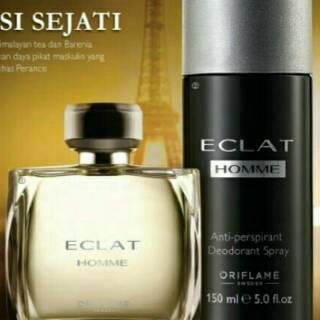 Parfum Oriflame Eclat Homme Shopee Indonesia
