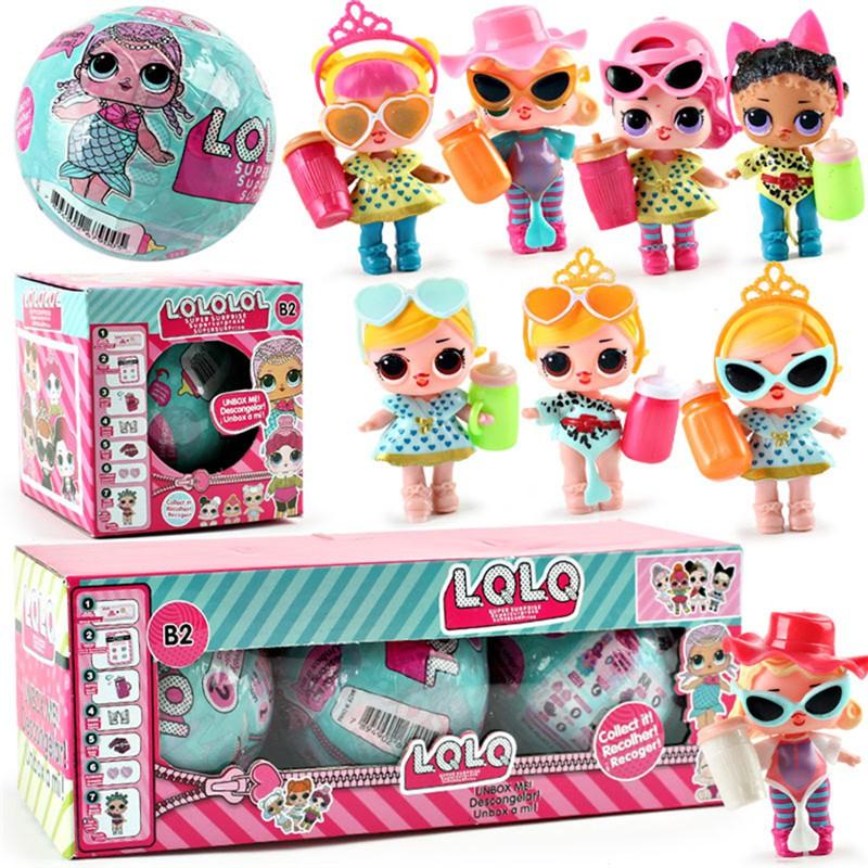 Mainan Anak Boneka Lol Surprise Ball Harga Miring Jual Rugi Ready 5 Warna  63b96ff5c6