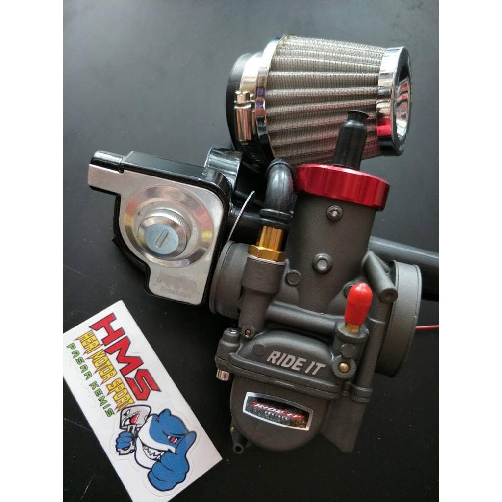 Karburator Pe28 Racing Plus Gas Spontan Magura Shopee Indonesia Bungbon Polos