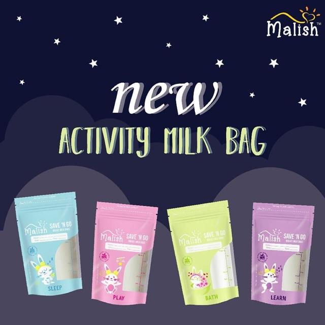 Malish Activity Kantong Asi 100ml