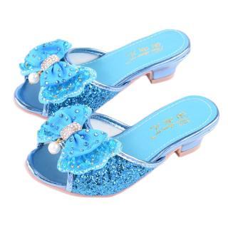 Mahkota 23 34 Sepatu Anak Perempuan Princess Pesta Dance Disney