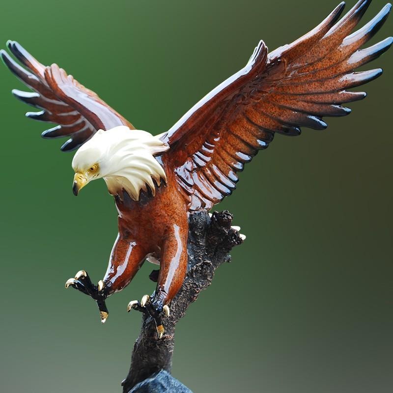 Patung Burung Elang Peng Wings Bahan Resin Gaya Eropa Untuk Dekorasi Taman Shopee Indonesia