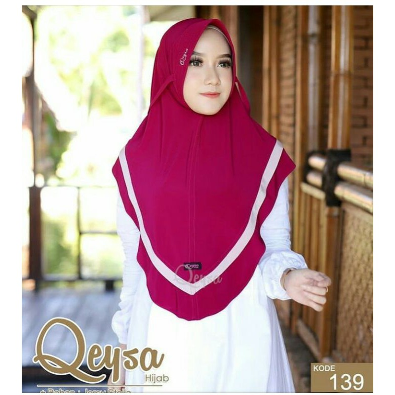 Qeysa Original / Qeysa hijab kode 139 / Qeysa pet tali list