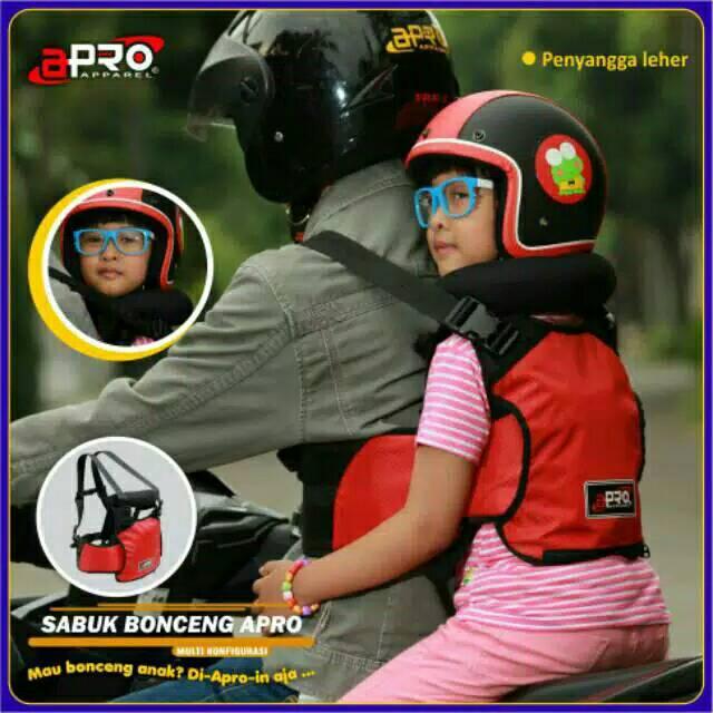 Sabuk Bonceng Motor Anak Safety Apro Multi Fungsi - Abu | Shopee Indonesia