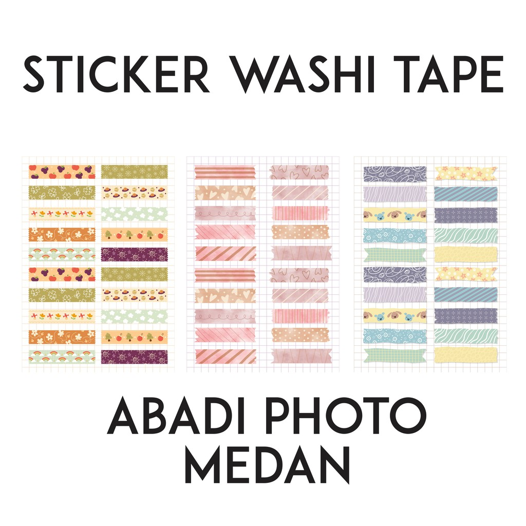 Sticker Tumblr Aesthetic Bujo Hp Laptop Scrapbook No Cutting Washi Tape Shopee Indonesia