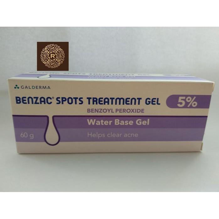 Ready - Benzac Spots Treatment Gel Benzoyl Peroxide 5% ...