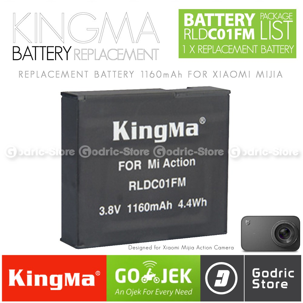 Beli Kingma Original Waterproof Case For Xiaomi Yi 4k Plus Paket Complete Battery Charger Set Lite Discovery Action Camera Harga Lebih Murah Bersama Teman Shopee Indonesia
