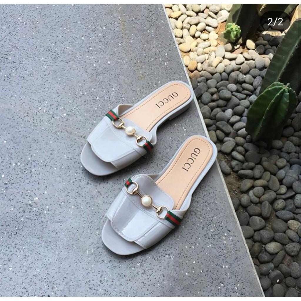 Sandal belang blaster lucu sendal wanita mall main model import murah pita  ribbon besar  f9677ca93b