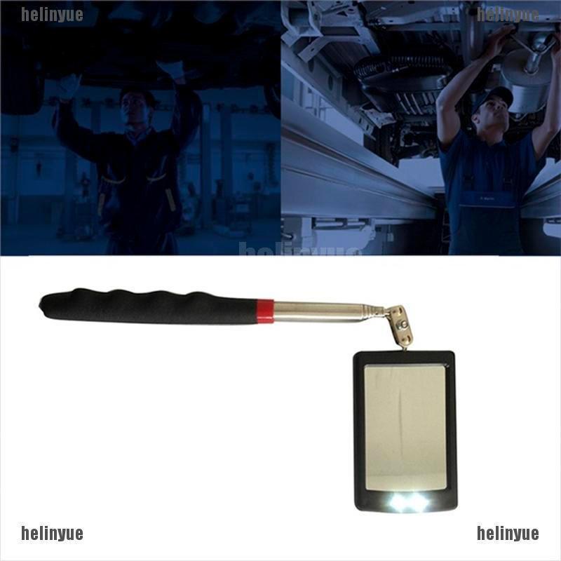 pen light Tool Car//Vehicle LED mirror inspection Telescopic angle Extend//Swivel