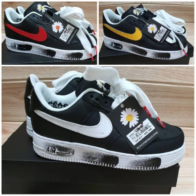 Sepatu Nike Air Force One X Peaceminusone G Dragon Shopee Indonesia