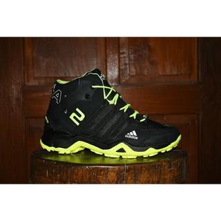 Sepatu Adidas Ax2 Hitam Hijau 6