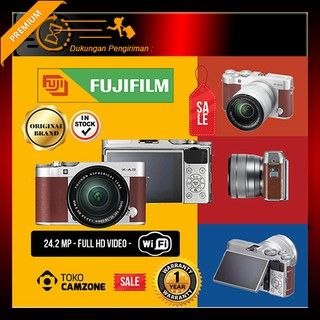 Fujifilm X-A3 Kit 16-50mm f/3.5-5.6 OIS II  - Kamera Mirrorless