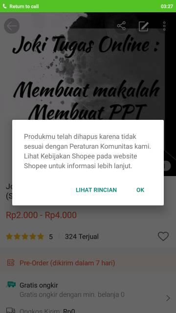 Joki Tugas Membuat Makalah Ppt Shopee Indonesia