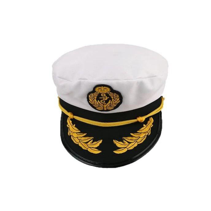 Dewasa Topi Kapten Topi Putih - Daftar Harga Terkini dan Terlengkap ... 8d4e9824ae