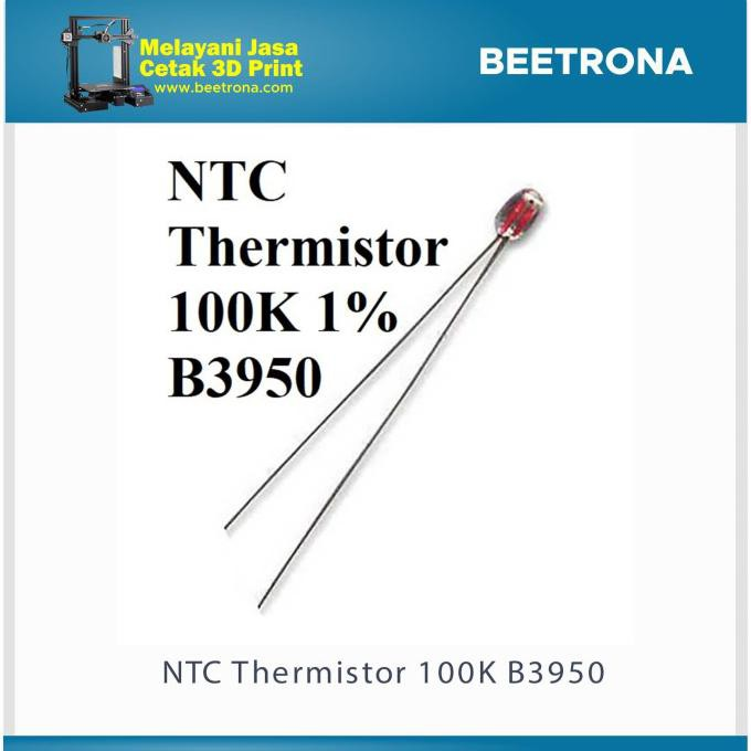 NTC Thermistor 100K 1% B3950 No Cable beetron65 dijamin