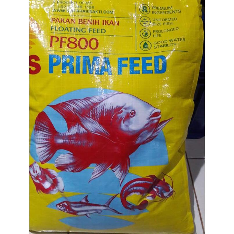 T ʖ T Pakan Makanan Benih Bibit Ikan Lele Nila Gurame Pelet Pf 800 1 Kg Shopee Indonesia