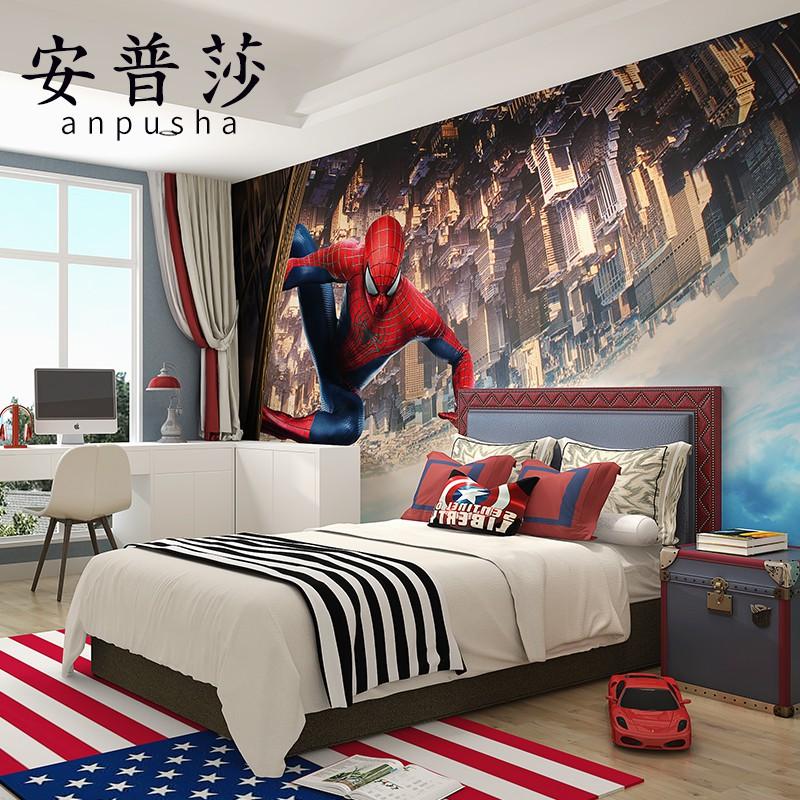 Rudi Blog: Spiderman Bedroom Wallpaper