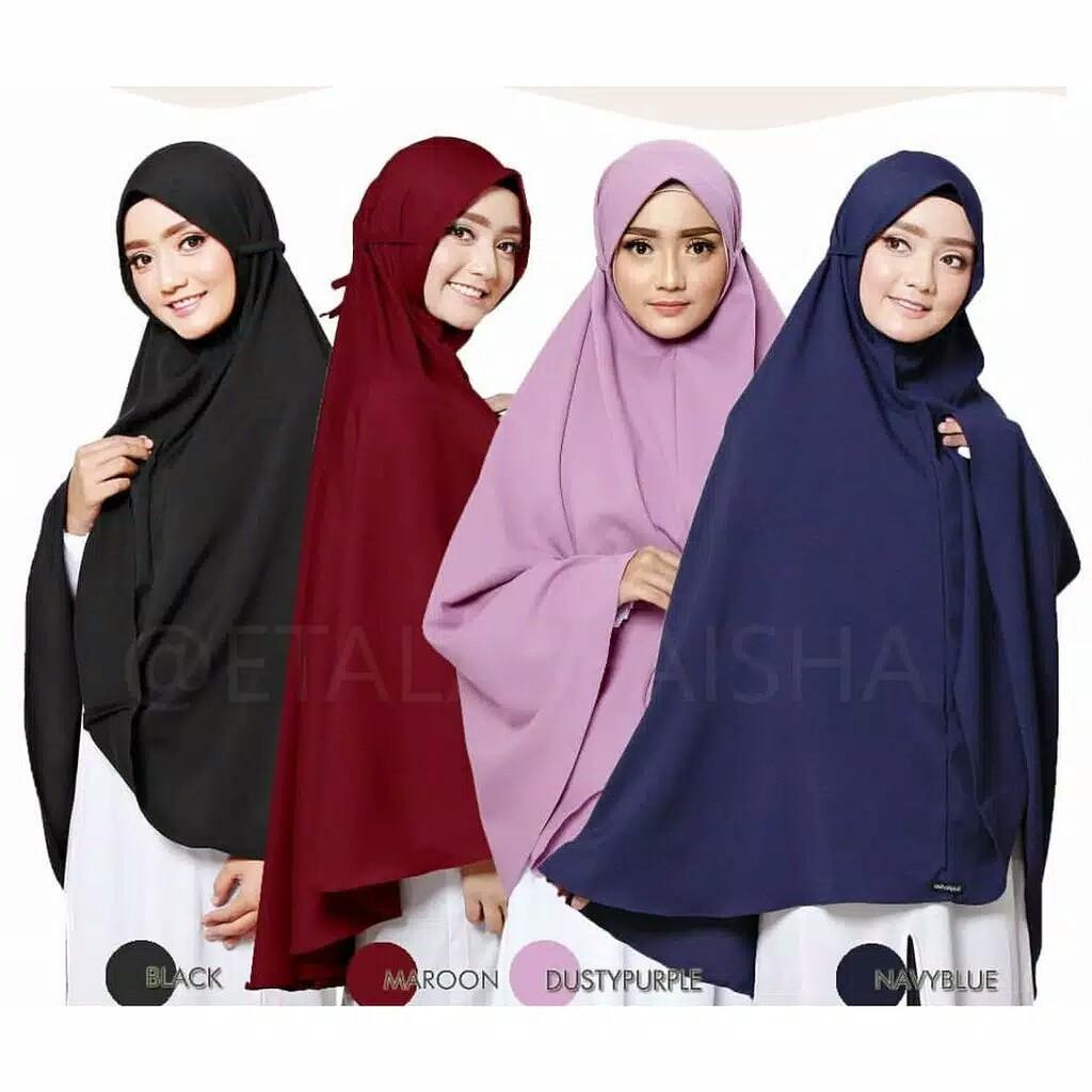 Hijab Instant Azalea 8 Warna Army Maroon Navy Silver Dusty Hitam Mocca Mustard Shopee Indonesia