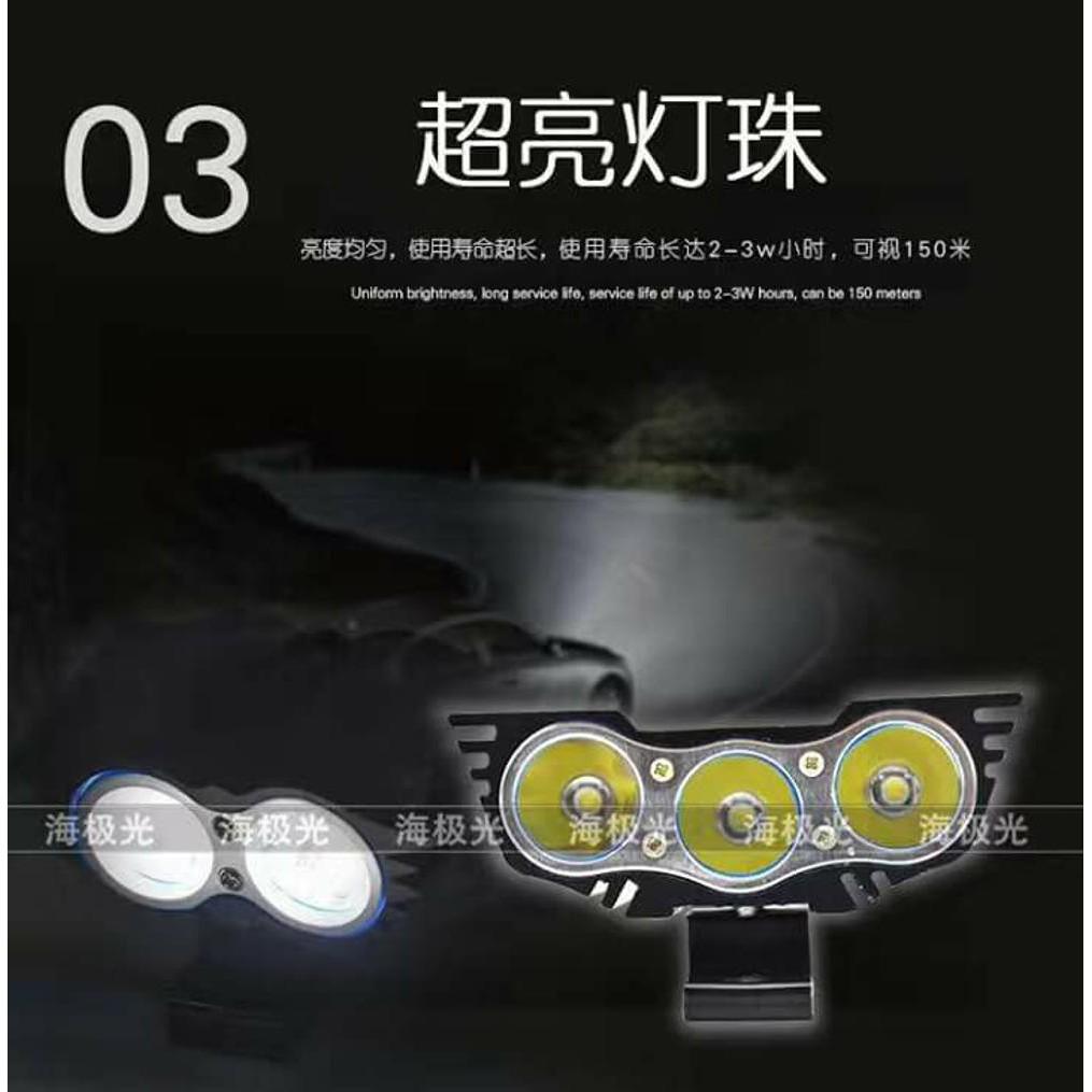 Lampu Tembak Projektor Led A03x Burung Hantu Universal Motor 2mata Sj0021 Shopee Indonesia