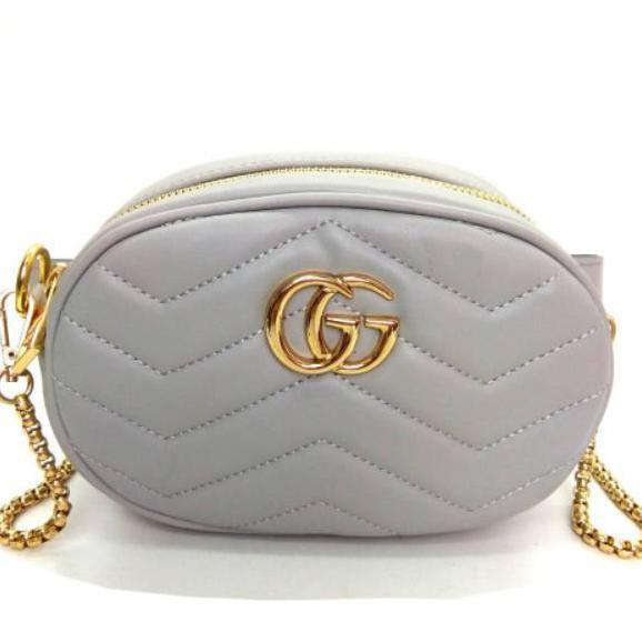 05d30fd5289fd1 Termurah Tas Belt Mini Bag Nagita Fashion Murah Batam Wanita Import  Pinggang Waist Bag Selempang .