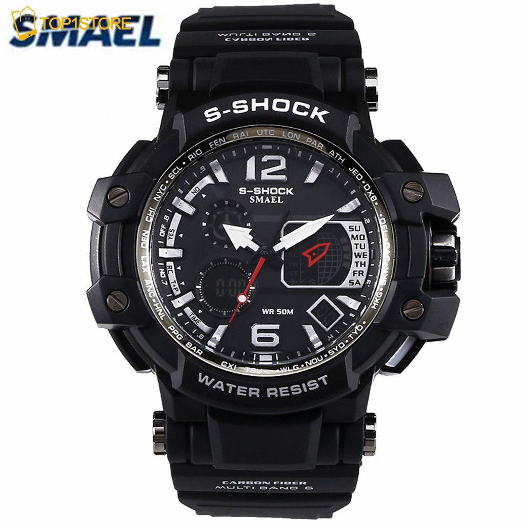 Jual Beli Produk Led Jam Tangan Pria Shopee Indonesia Skmei Casio Men Sport Watch Water Resistant 50m Ad1109