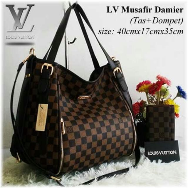 MURAH Tas branded GUCCI GC430 GG Hobo globe second bekas original asli  cb36b395b0