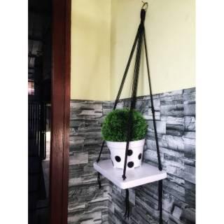 [600 gram] Rak Dinding Minimalis untuk Pot by SaMJu Best Seller | Shopee Indonesia