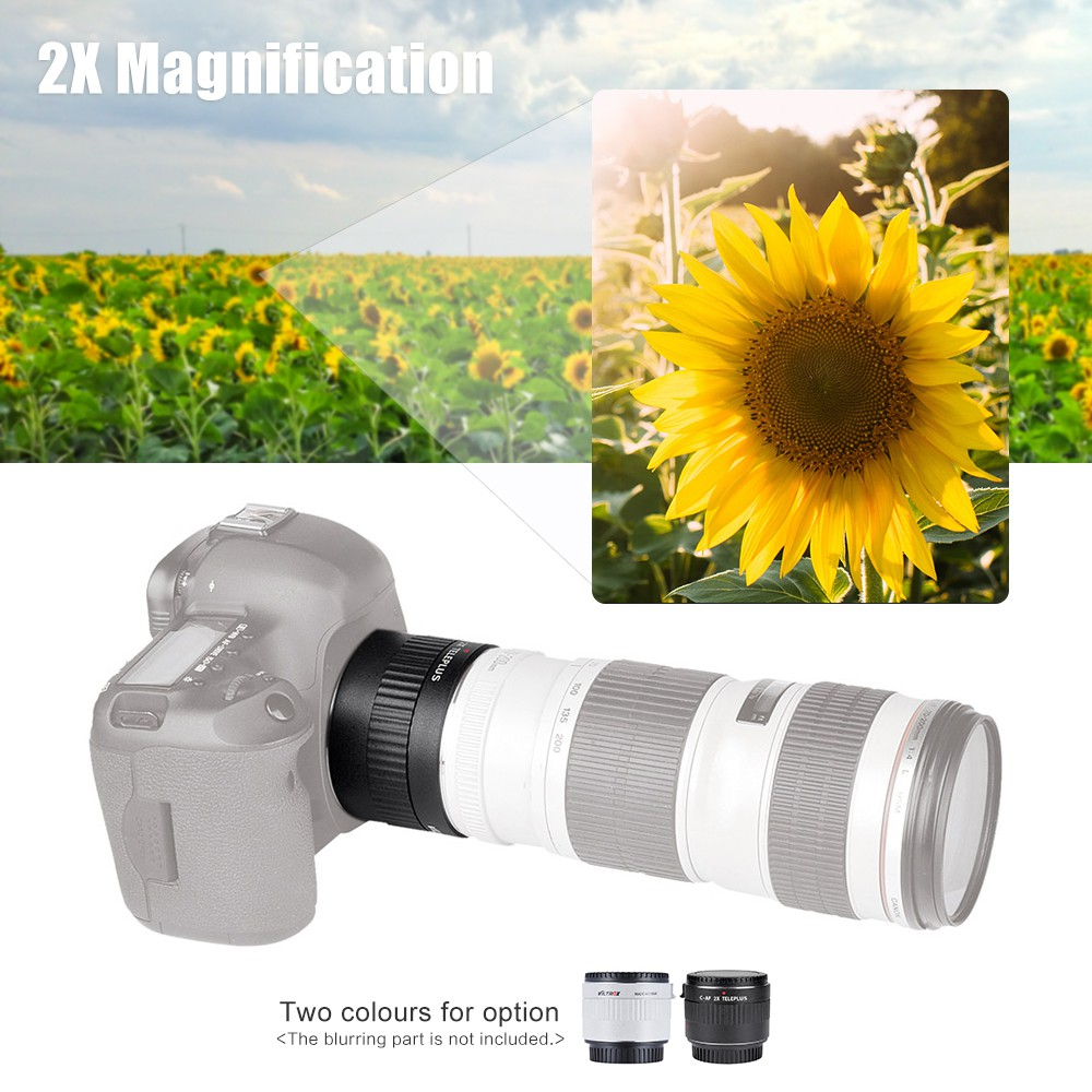 Pro Hi Def Wide Angle Lens with Macro for Canon EOS M6 M50 49mm Compatible