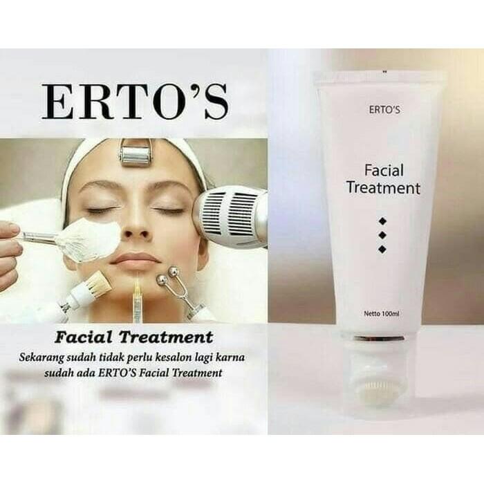 Murah ERTOS / ERTO'S Facial Treatment / Perawatan Wajah BPOM 100% Original QR0075 | Shopee Indonesia