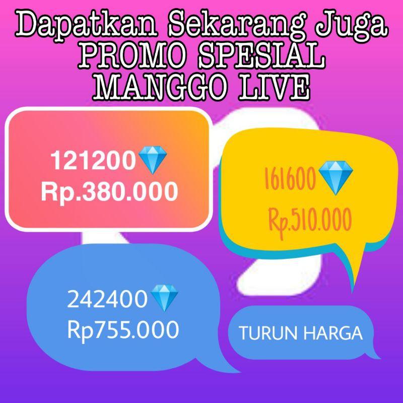 Turun Harga Top up Mango Live VIA ID