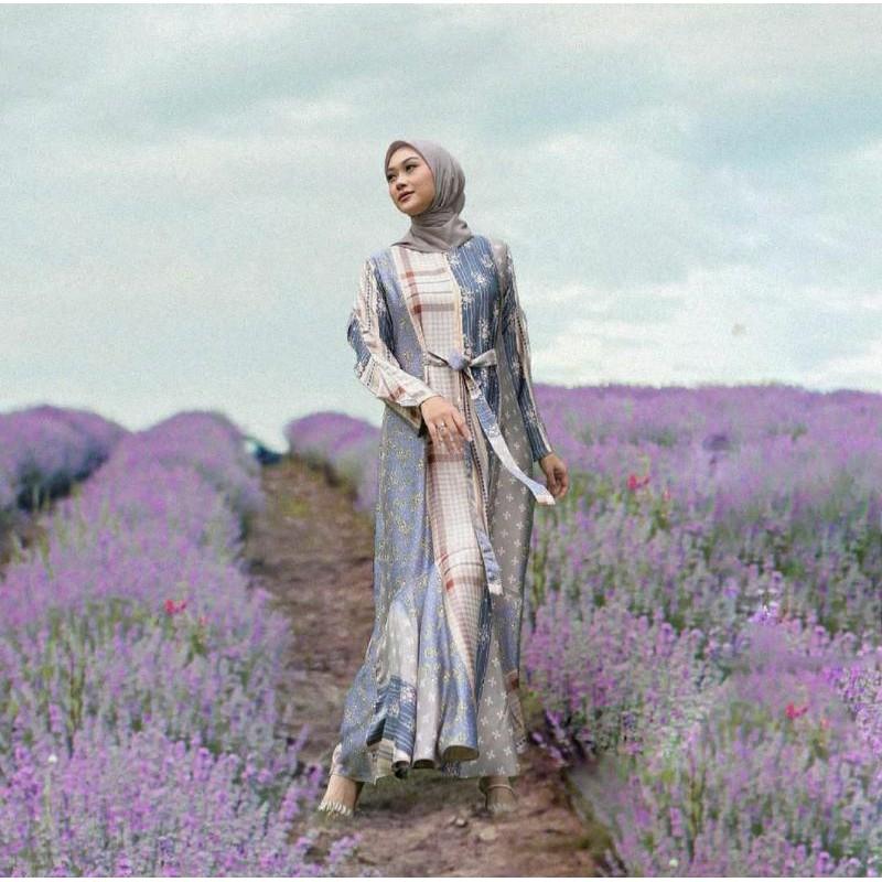 BINAR & PIJAR DRESS/BLOUSE Vanilla Hijab