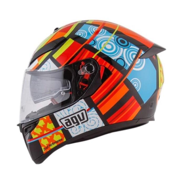 Good Product Helm Agv K3 Sv Element Visor Elements Full Visor Red Yellow K3sv Shopee Indonesia