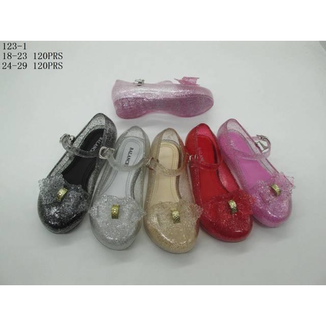 Jelly shoes pantopel laser sepatu wanita kerja 1817-1A glass daff variasi 2   fa027c2c45