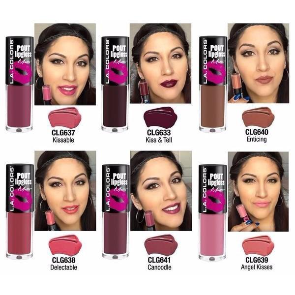 O 5Pcs / Lot Lipgloss Matte   Shopee Indonesia