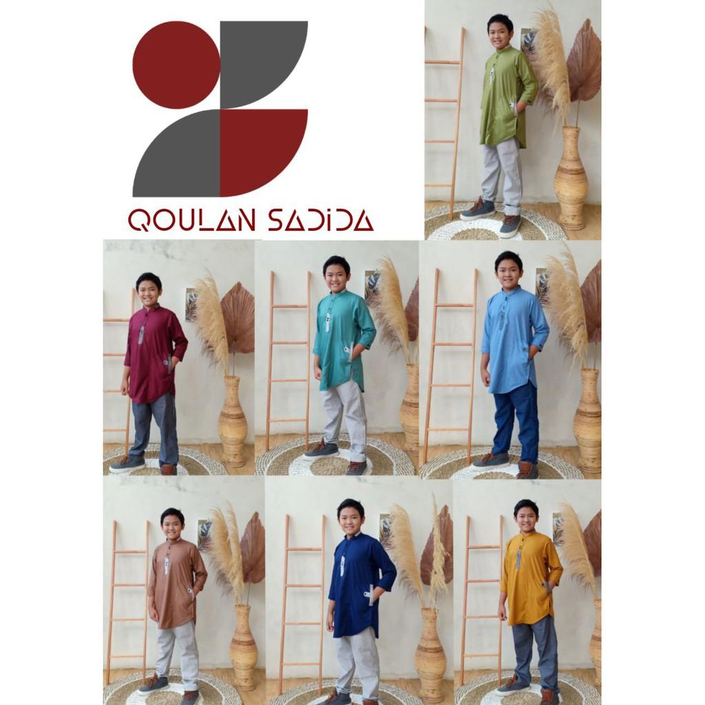 Kurta Anak Signature Series Set Celana by Qoulan Sadida