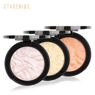 Stagenius Baked powder Shimmer Highlighter powder iluminador Contouring Glow Palette thumbnail
