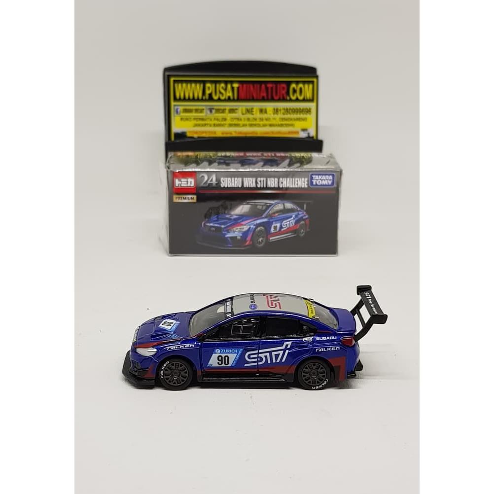Subaru Wrx Sti For Sale >> Gilaa Subaru Wrx Sti Nbr Challenge Tomica Premium Diecast Miniatur Hot Sale