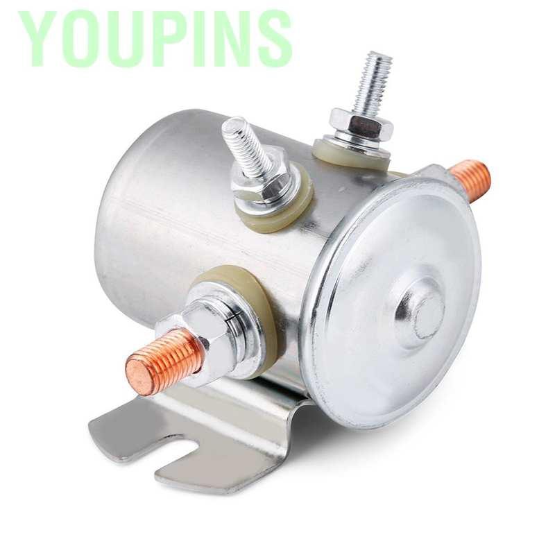 Power Magnetschalter 12V 150Amp Relais BOSCH für DC-Motoren  NEU