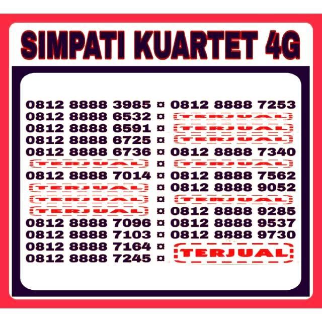Nomor Cantik Kartu . Source · Promo Belanja nomercantik Online, Agustus 2018 | Shopee Indonesia -. Source · Telkomsel Kartu