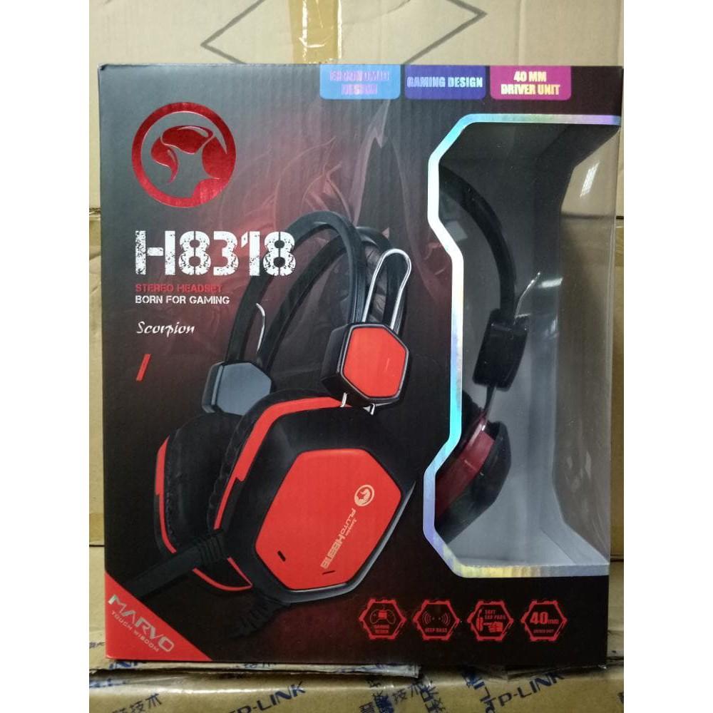 Harga Jual Marvo Gaming Headset H8630 Black Termurah 2018 Headseet H8629 H8329 Redragon P001 Archelon Sz Mouse Pad D Shopee Indonesia