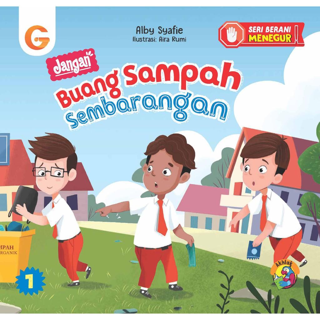 Seri Anak Berani Menegur Jangan Buang Sampah Sembarangan Shopee Indonesia