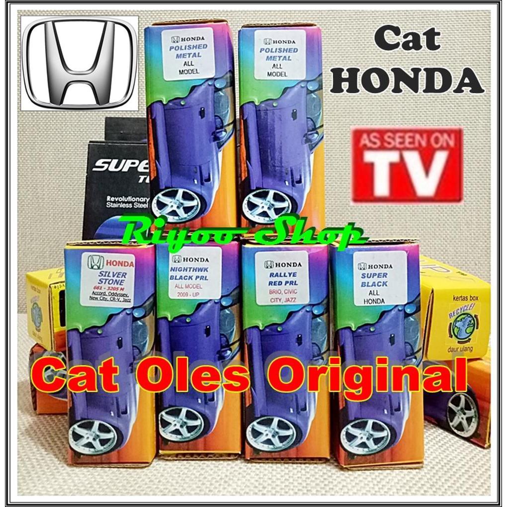 Honda Cat Oles Penghilang Baret Dalem Lecet Gores Mobil Touch Datsun Go All Model Parah Dalam Asli Up T Shopee Indonesia