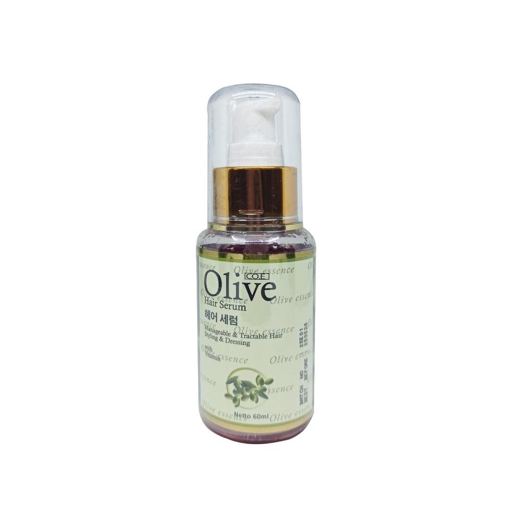 SYB CO.E Olive Hair Treatment - Shampoo Conditioner Tonic Black Kemiri Oil Mask Serum Kids-Olive Hair Serum