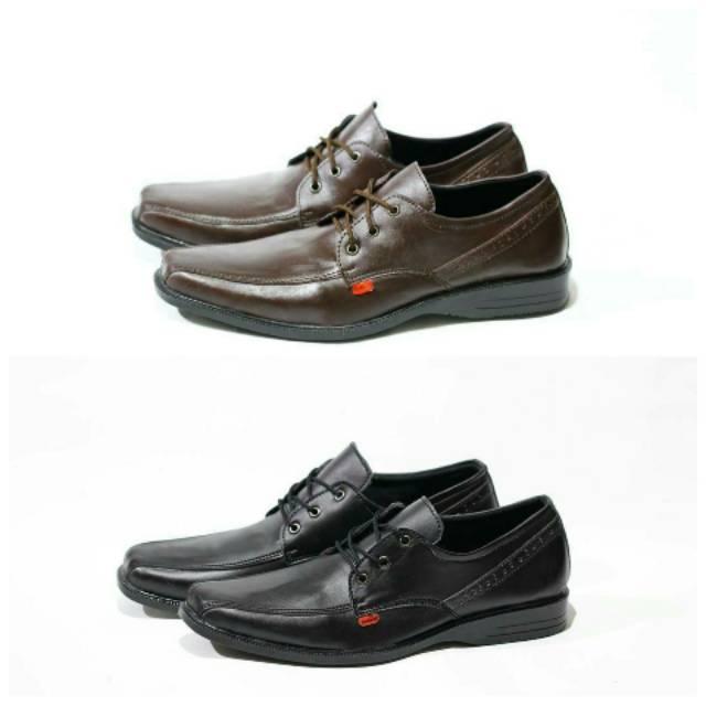 Sepatu Pantofel Tali Pria Murah Asli Import Formal Pesta Kerja Kantor Kickers Grade Original