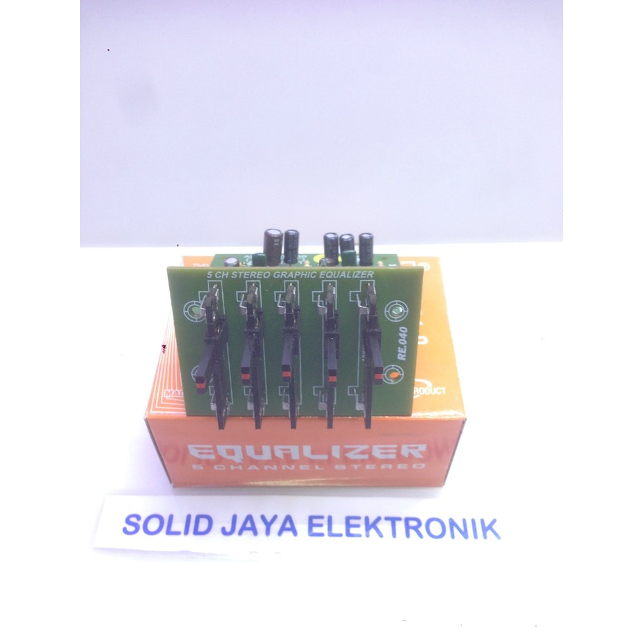 Equalizer 10 Channel Slide Potensio Ebonit La3600 Stereo 2 X 5 Ch Band Circuit X43 Shopee Indonesia