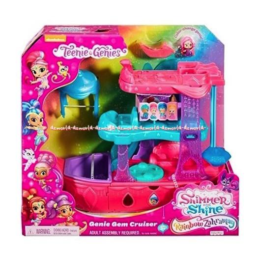 Shimmer And Shine Rainbow Zahramay Genie Gem Cruiser Mainan Anak Shopee Indonesia