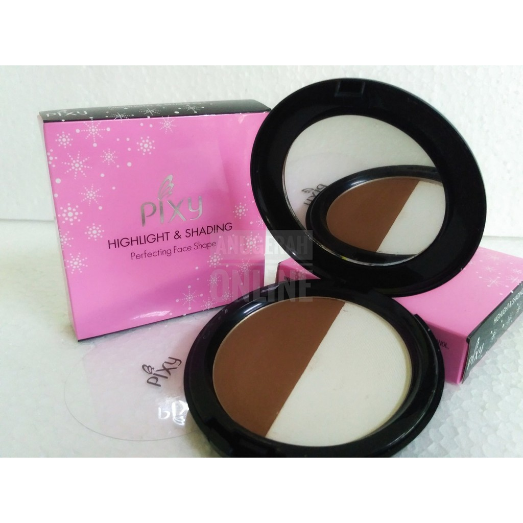 PIXY HIGHLIGHT AND SHADING PERFECTING FACE SHAPE 10 Gr | Shopee Indonesia