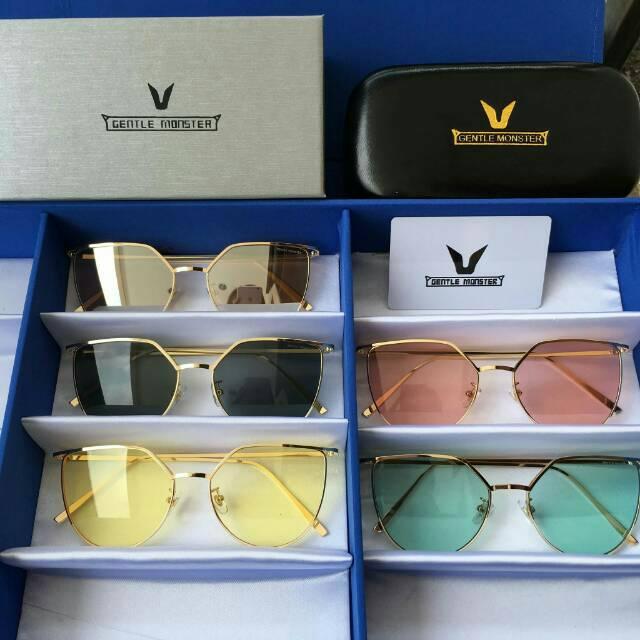 Kacamata wanita gentle monster punch love premium fullset harga grosir  71bae313cf