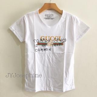 95db8dde K016 - Kaos / Tumblr Tee / T-Shirt Wanita / Cewek Gucci Common Sense ...
