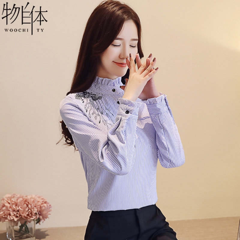 ❀✣Plaid shirt female long-sleeved student loose mid-length spring dress 2019 New Leisure College IN | Shopee Indonesia